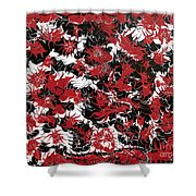 Red Devil U - V1cbs36 Shower Curtain