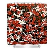 Red Devil U - V1cfs100 Shower Curtain