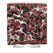 Red Devil U - V1lw64 Shower Curtain