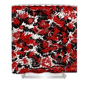 Red Devil U - V1vhkf100 Shower Curtain