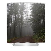 Red Dirt Road Shower Curtain