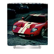 Red Ford Gt Shower Curtain