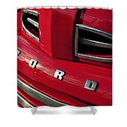 Red Ford Truck Shower Curtain