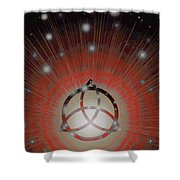 Red Giant Shower Curtain
