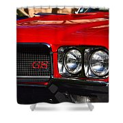 Red Gs Shower Curtain