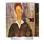 676bc72edfe Red Haired Young Man Amedeo Modigliani 1906 Spiral Notebook for Sale ...