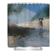 Red Hat Shower Curtain