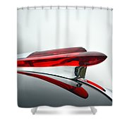 Red Hood Ornament Shower Curtain