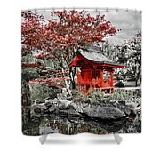 Red House Shower Curtain