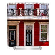 Red House-nola-marigny-2 Shower Curtain