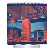 Metro Airborne 5 Shower Curtain
