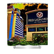 Red Lion Hotel In Spokane Shower Curtain