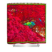 Red Maple 4 Shower Curtain