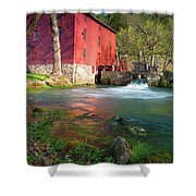 Red Mill Shower Curtain