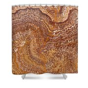 Red Onyx Shower Curtain