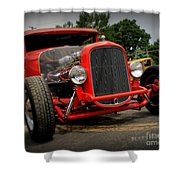 Red Ride 2 Shower Curtain