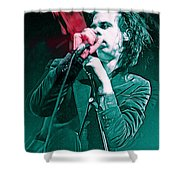 Red Right Hand, Nick Cave Shower Curtain