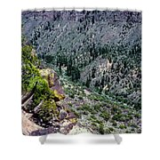 Red River Gorge Shower Curtain