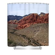 Red Rock Canyon 1 Shower Curtain