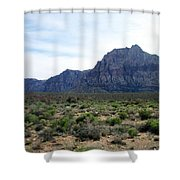 Red Rock Canyon 3 Shower Curtain