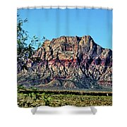 Red Rock Canyon Shower Curtain