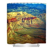 Red Rock Canyon Nevada Shower Curtain