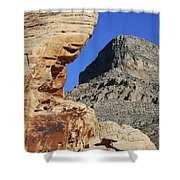 Red Rock Canyon Nv 2 Shower Curtain