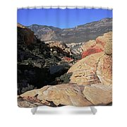 Red Rock Canyon Nv 7 Shower Curtain