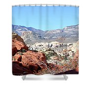 Red Rock Canyon Nv 8 Shower Curtain