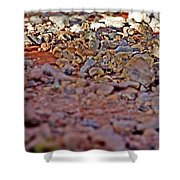 Red Rock Canyon Stones 1 Shower Curtain