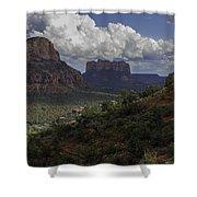 Red Rock Of Sedona Arizona Shower Curtain