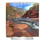 Red Rock Sedona Shower Curtain