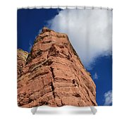 Red Rock Shower Curtain