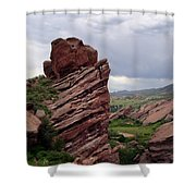 Red Rocks Colorado Shower Curtain