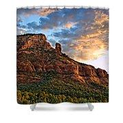 Red Rocks Sedona, Az Shower Curtain