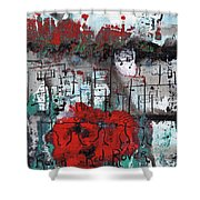 Red Rover  Red Rover Shower Curtain