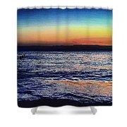 Red Sea Aqaba Shower Curtain
