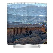 Red Shirt Formation Shower Curtain