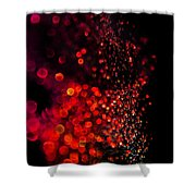 Red Spell Shower Curtain