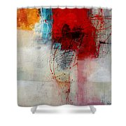 Red Splash 1 Shower Curtain