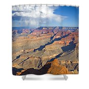 Red Storm Rising Shower Curtain