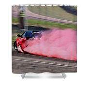 Red To Pink - Drifter Shower Curtain