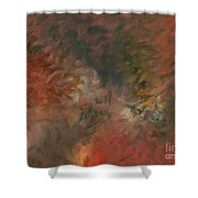 Red Triumph Shower Curtain