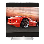 Red Viper Rt10 Shower Curtain