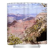 Red Wall - Grand Canyon Shower Curtain