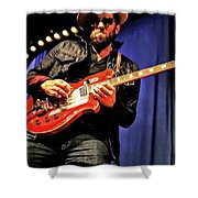 Red, White, And  Blues Man Shower Curtain