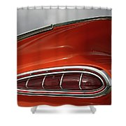 Red Wing Shower Curtain