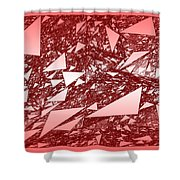 Red.288 Shower Curtain
