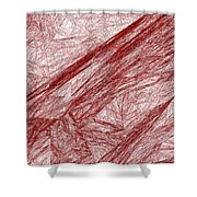 Red.289 Shower Curtain