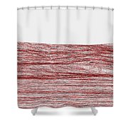 Red.316 Shower Curtain